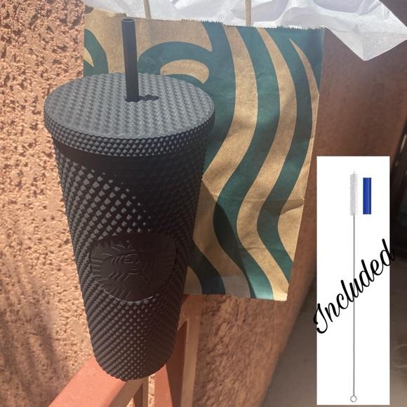 Starbucks Matte Black Studded Tumbler 🖤